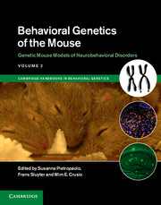 Cambridge Handbooks in Behavioral Genetics