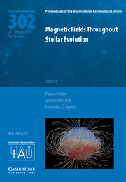 Magnetic Fields throughout Stellar Evolution (IAU S302)
