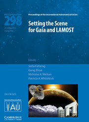Setting the Scene for Gaia and LAMOST (IAU S298)