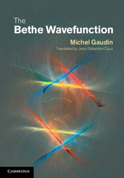 The Bethe Wavefunction