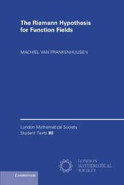 The Riemann Hypothesis for Function Fields