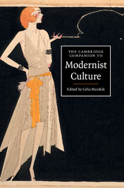 The Cambridge Companion to Modernist Culture