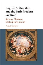 English Authorship and the Early Modern Sublime