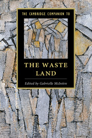 critical essays on the waste land Seeing the waste land as an elegy- to jean verdenal it is interesting to observe that the critics of these two camps often use very similar strategies, even quote the same (excerpts from) texts, to support their appositional claims exemplary of this are lyndall gordon, and john peter, who support their interpretations of.