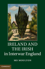 Ireland and the Irish in Interwar England