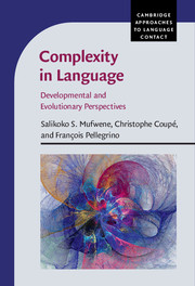 Cambridge Approaches to Language Contact