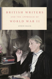 British Writers and the Approach of World War II