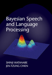 Bayesian Speech and Language Processing