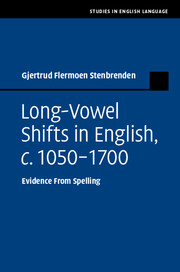 Long-Vowel Shifts in English, c.1050–1700