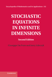 Stochastic Equations in Infinite Dimensions