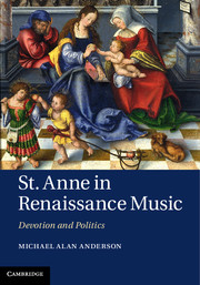 St. Anne in Renaissance Music