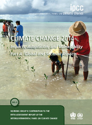 Climate Change 2014 – Impacts, Adaptation and Vulnerability: Part A: Global and Sectoral Aspects