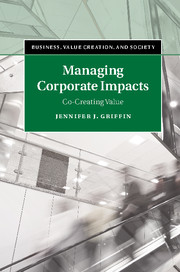 Managing Corporate Impacts