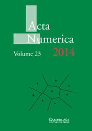 Acta Numerica 2014