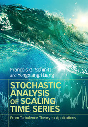 Stochastic Analysis of Scaling Time Series