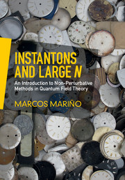 Instantons and Large N