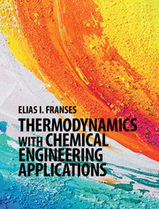 Thermodynamics with Chemical Engineering Applications