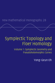 Symplectic Topology and Floer Homology