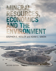 Mineral Resources, Economics and the Environment