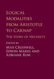 Logical Modalities from Aristotle to Carnap