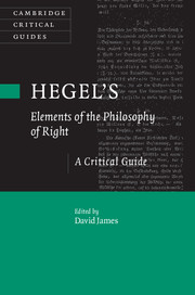 Hegel's Elements of the Philosophy of Right