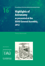 Highlights of Astronomy