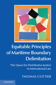 Equitable Principles of Maritime Boundary Delimitation