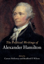 The Political Writings of Alexander Hamilton