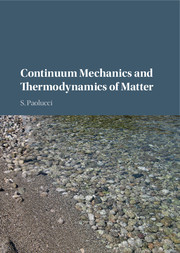 Continuum Mechanics and Thermodynamics of Matter