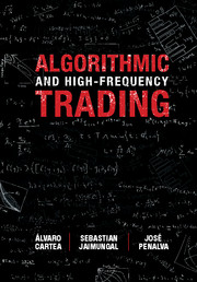 Algorithmic and High-Frequency Trading Book (cover image)