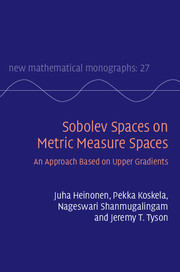 Sobolev Spaces on Metric Measure Spaces