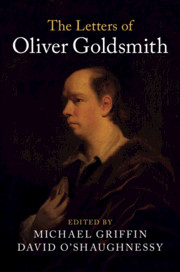 The Letters of Oliver Goldsmith