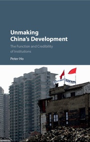 Unmaking China's Development