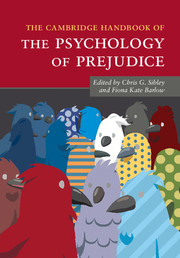 The Cambridge Handbook of the Psychology of Prejudice