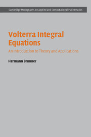 Volterra Integral Equations