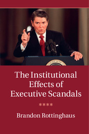 The Institutional Effects of Executive Scandals