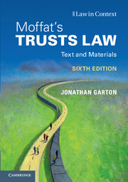 Moffat's Trusts Law 6th Edition