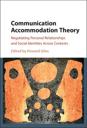 Communication Accommodation Theory