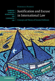Justification and Excuse in International Law