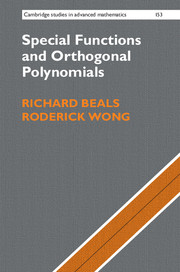 Special Functions and Orthogonal Polynomials