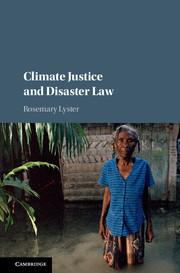 Climate Justice and Disaster Law