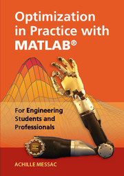 Optimization practice matlab engineering students and professionals optimization in practice with matlab for engineering students and professionals fandeluxe Image collections
