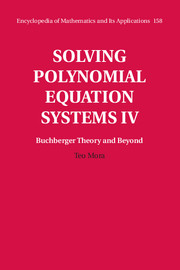 Solving Polynomial Equation Systems IV