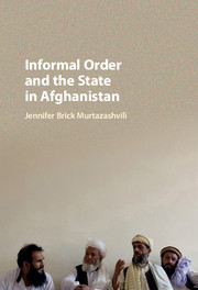 Informal Order and the State in Afghanistan