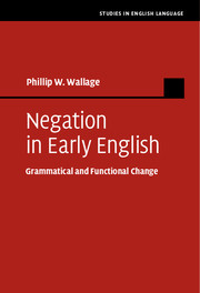 Negation in Early English