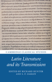 Latin Literature and its Transmission