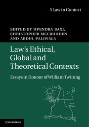 Law's Ethical, Global and Theoretical Contexts
