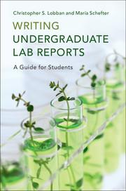 Writing Undergraduate Lab Reports