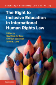 The Right to Inclusive Education in International Human Rights Law