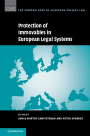 Protection of Immovables in European Legal Systems